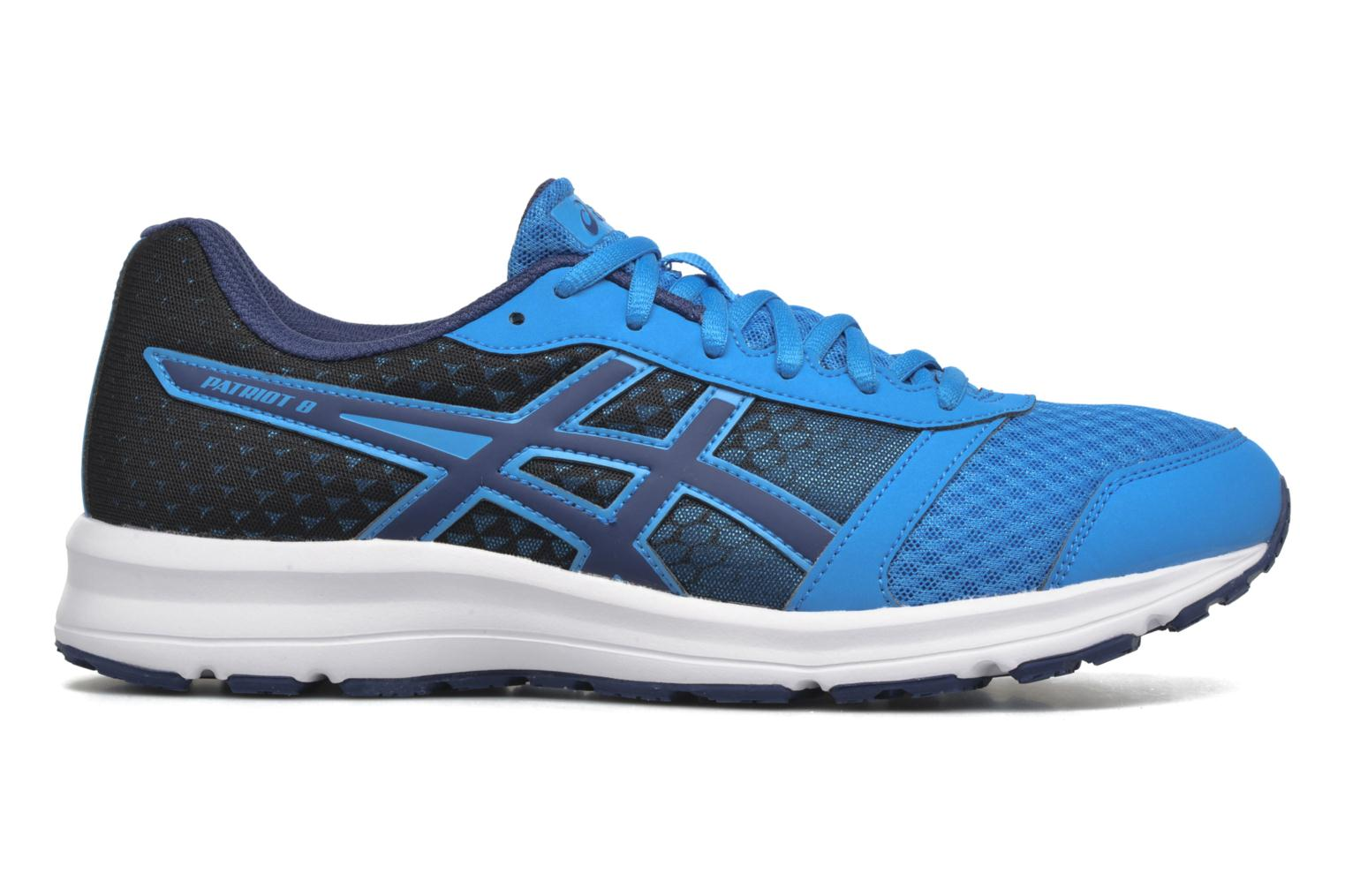 Sport shoes Asics Patriot 8 Blue back view