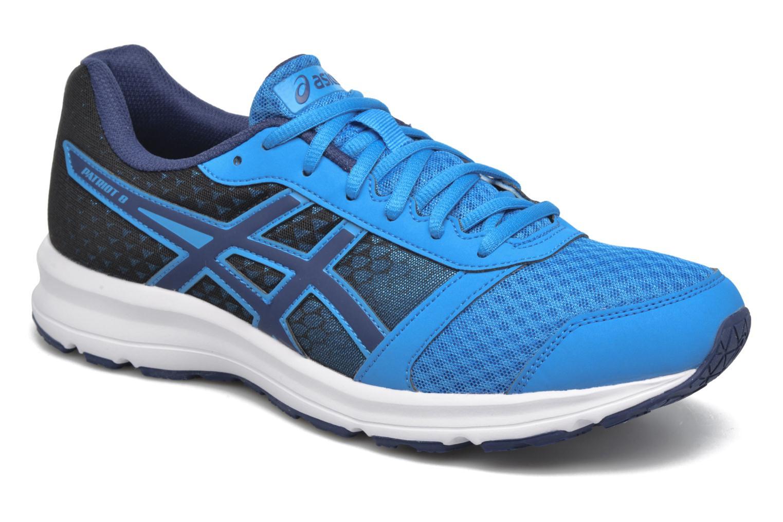 Sport shoes Asics Patriot 8 Blue detailed view/ Pair view