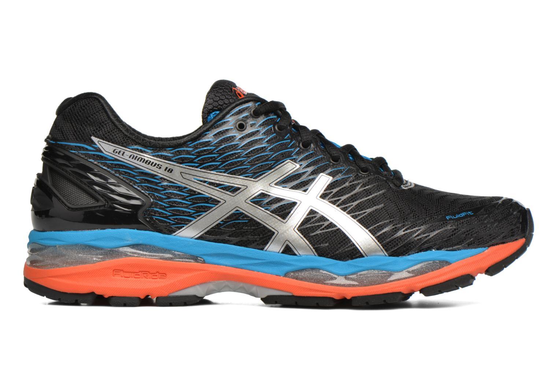 Sport shoes Asics Gel-Nimbus 18 Grey back view