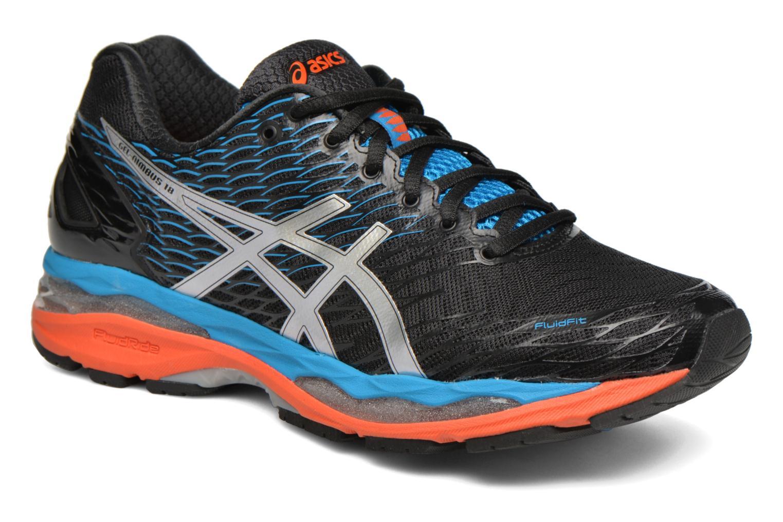 Sport shoes Asics Gel-Nimbus 18 Grey detailed view/ Pair view