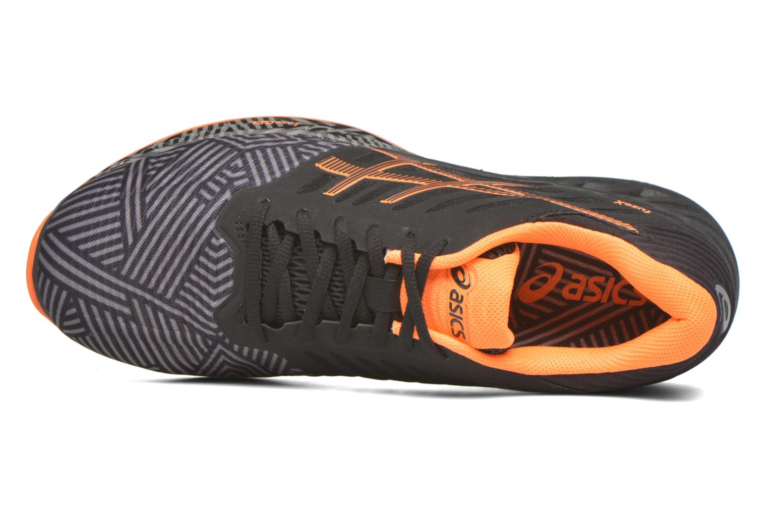 Sport shoes Asics Fuzex Grey view from the left