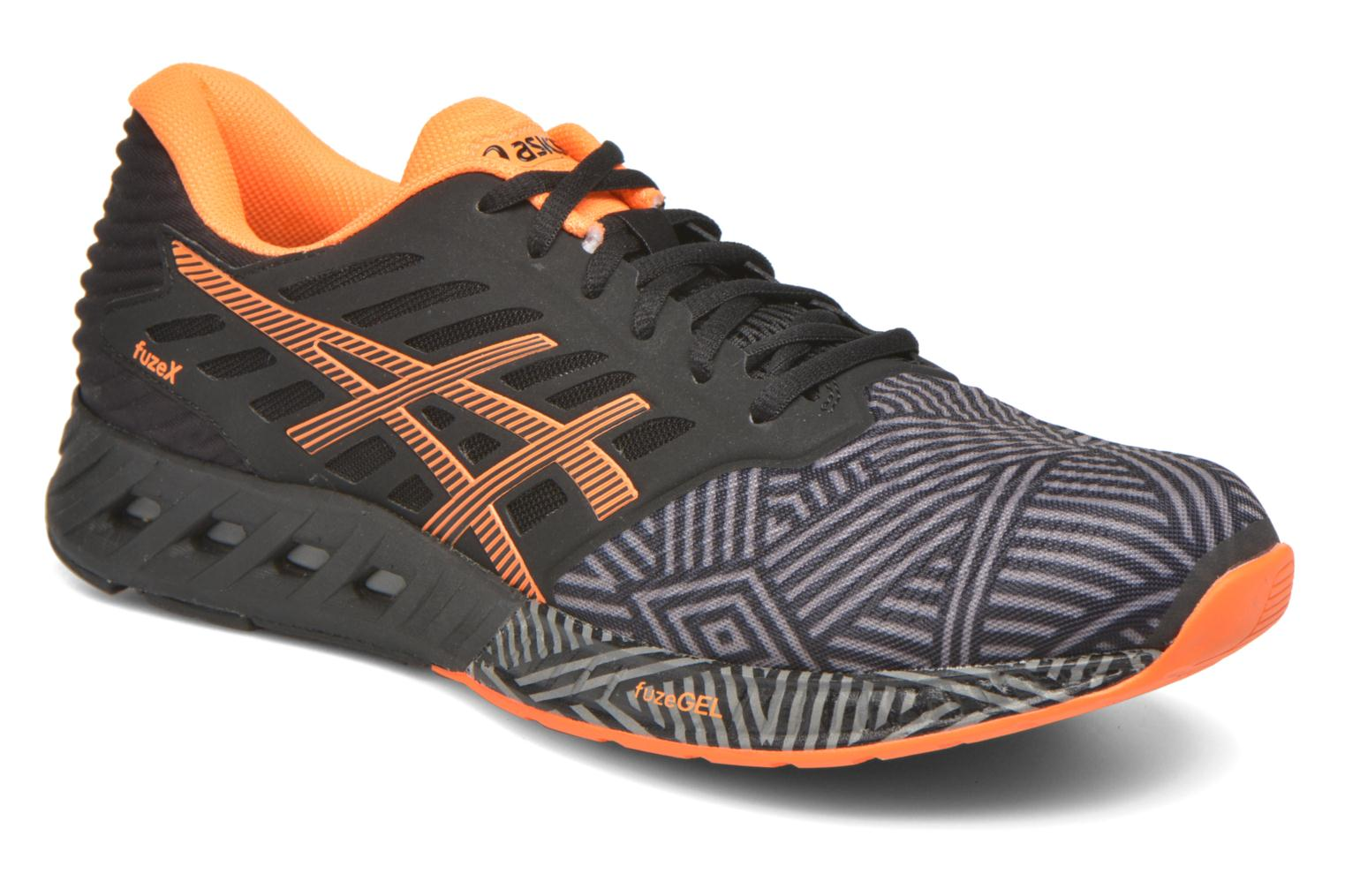 Sport shoes Asics Fuzex Grey detailed view/ Pair view