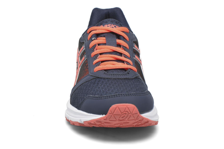 Chaussures de sport Asics Lady Patriot 8 Bleu vue portées chaussures