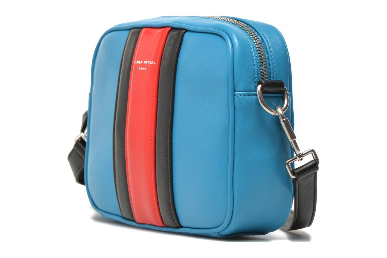 Sacs à main Sonia Rykiel SERIE 87 Camera bag crossbody Bleu vue portées chaussures