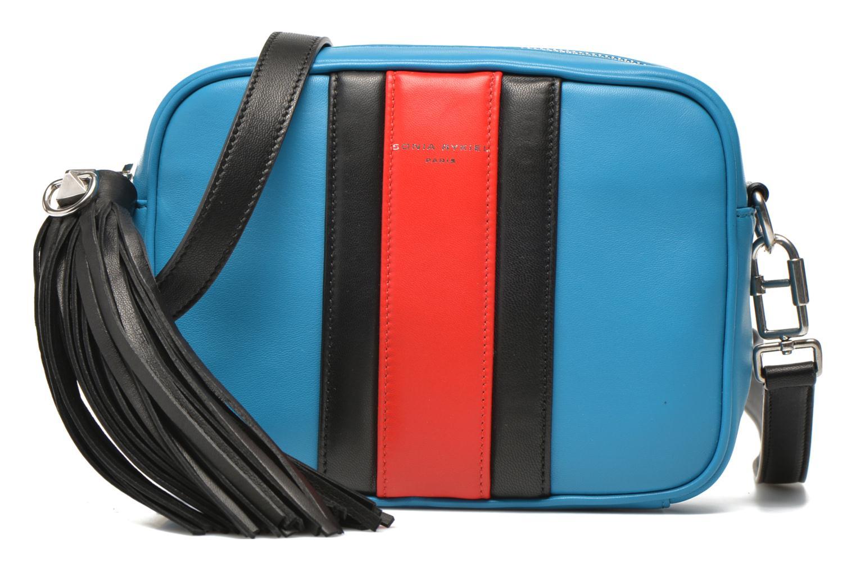 SERIE 87 Camera bag crossbody Sea Blue - Black - Red