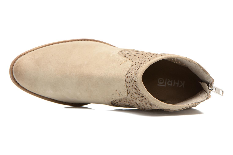 Bottines et boots Khrio Aeligana Beige vue gauche