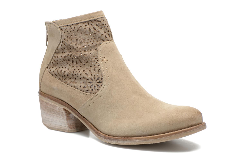 Bottines et boots Khrio Aeligana Beige vue détail/paire