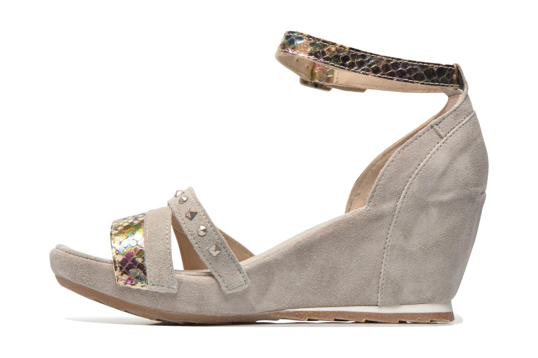 Sandales et nu-pieds Khrio Louna Beige vue face