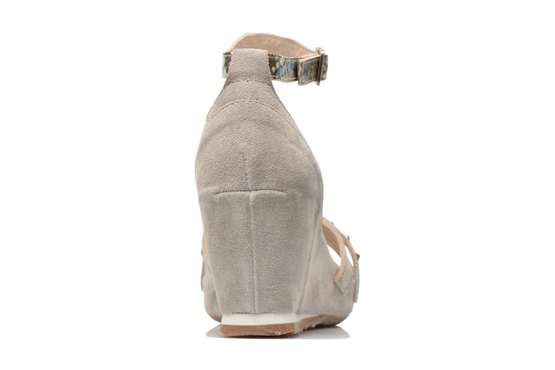 Sandales et nu-pieds Khrio Louna Beige vue droite