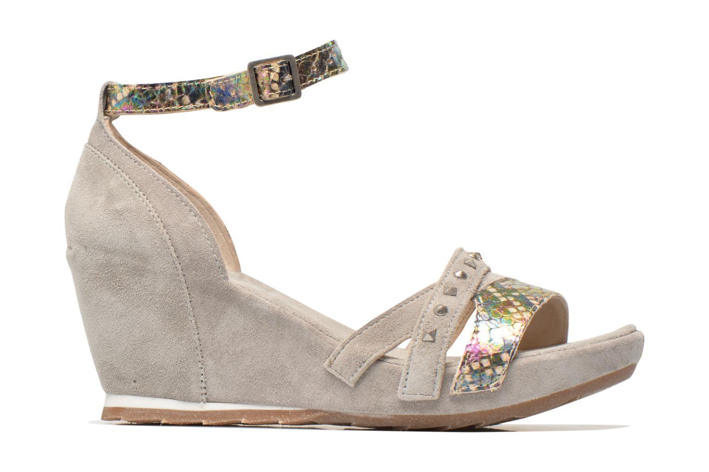 Sandales et nu-pieds Khrio Louna Beige vue derrière