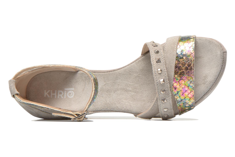 Sandales et nu-pieds Khrio Louna Beige vue gauche