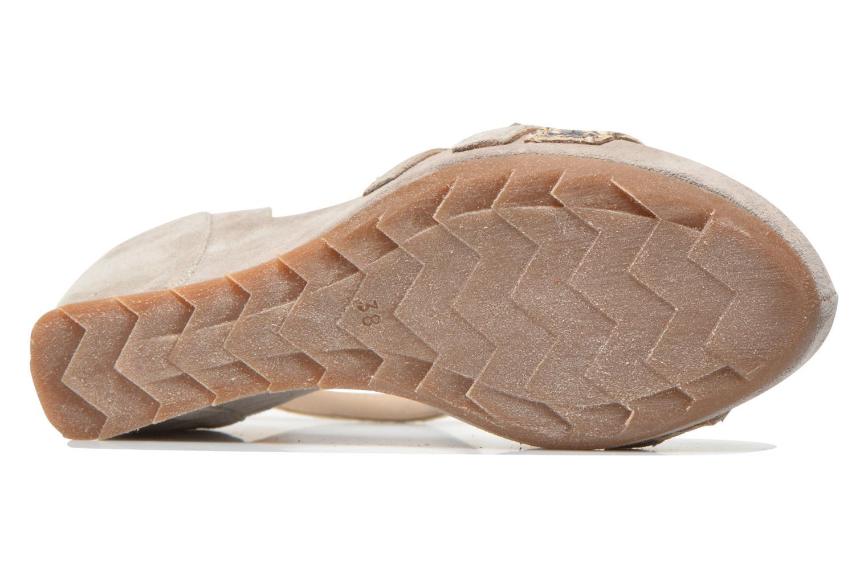 Sandales et nu-pieds Khrio Louna Beige vue haut