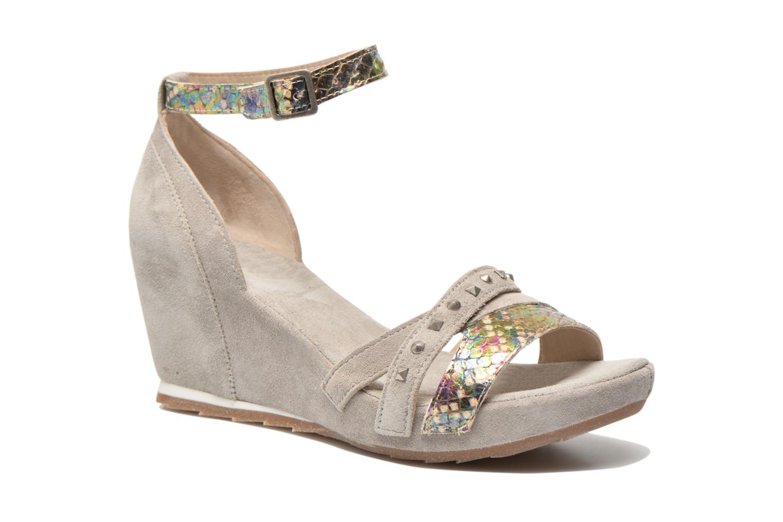 Sandales et nu-pieds Khrio Louna Beige vue détail/paire