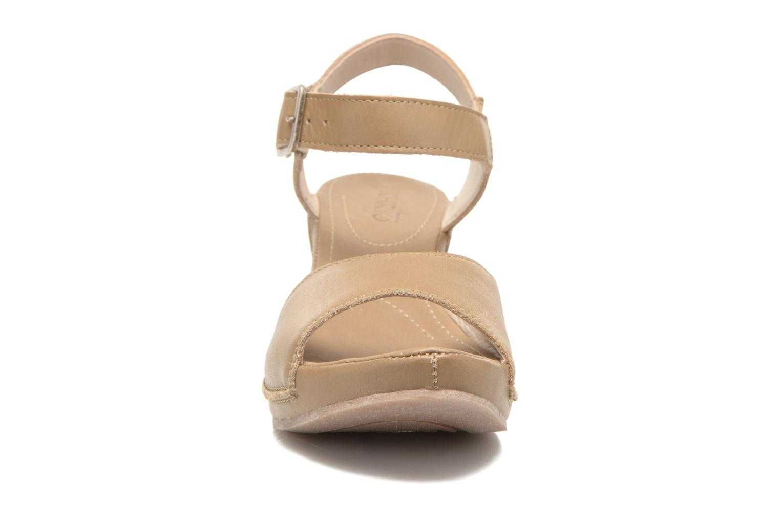 Sandals Khrio Nuova Beige model view
