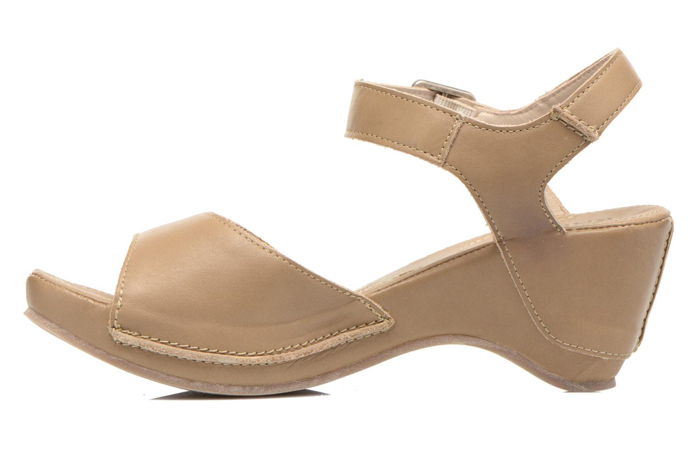 Sandales et nu-pieds Khrio Nuova Beige vue face