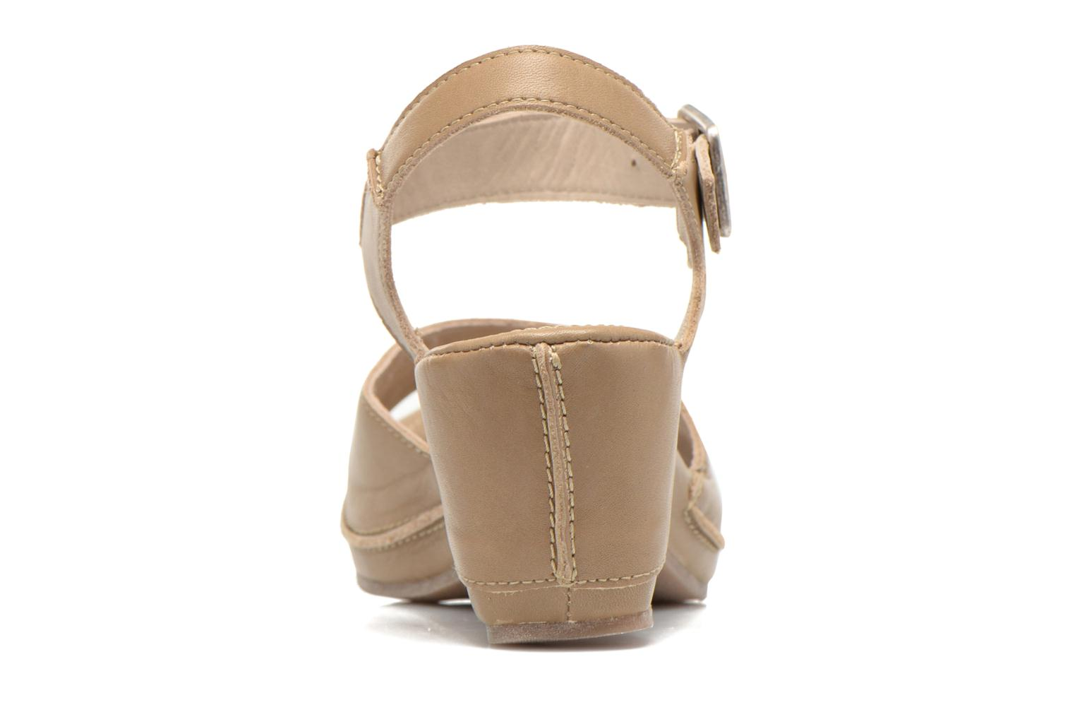 Sandals Khrio Nuova Beige view from the right
