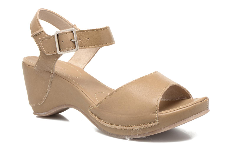 Sandales et nu-pieds Khrio Nuova Beige vue détail/paire