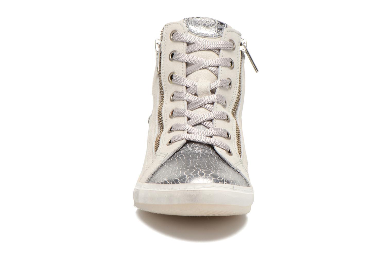 Baskets Khrio Klerviena Argent vue portées chaussures