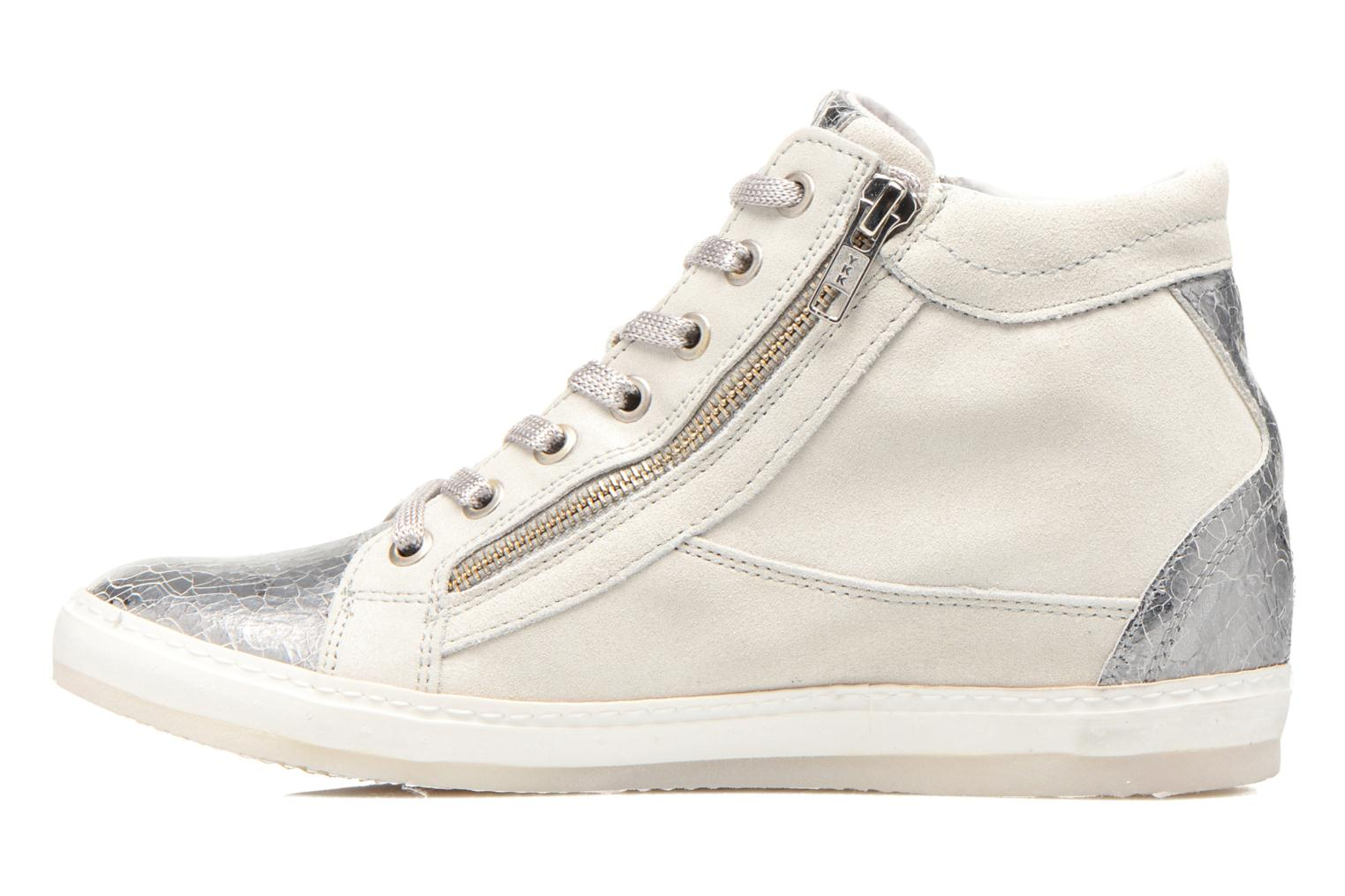 Trainers Khrio Klerviena Silver front view