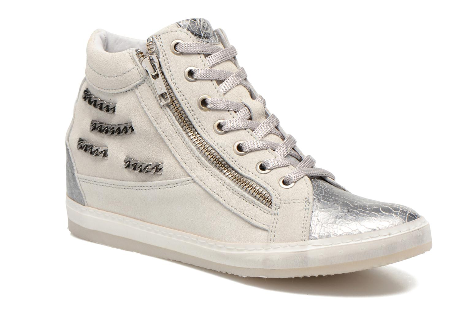 Trainers Khrio Klerviena Silver detailed view/ Pair view