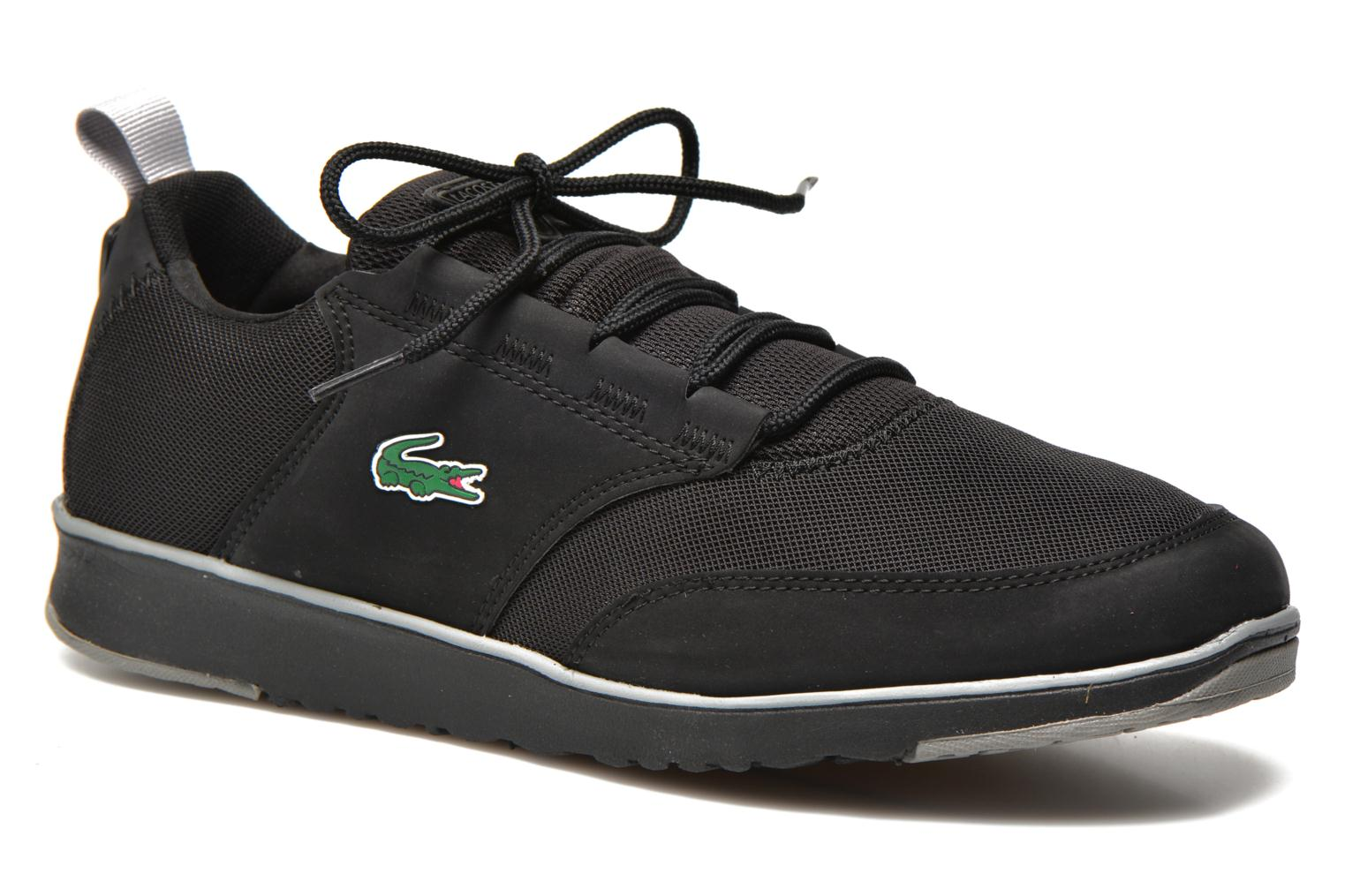 Trainers Lacoste L.Ight 116 1 Black detailed view/ Pair view