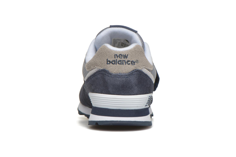 Baskets New Balance KV574 J Bleu vue droite