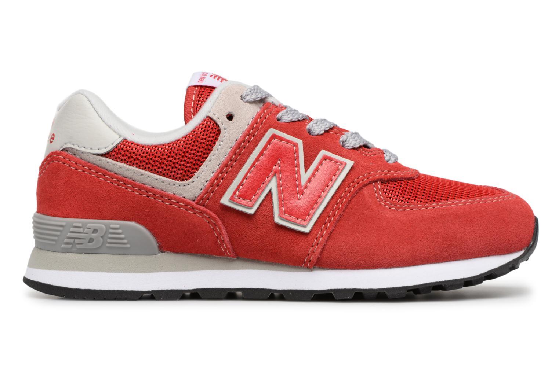 Sneakers New Balance KV574 J Rood achterkant