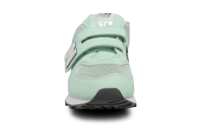 Trainers New Balance KV574 J Green model view