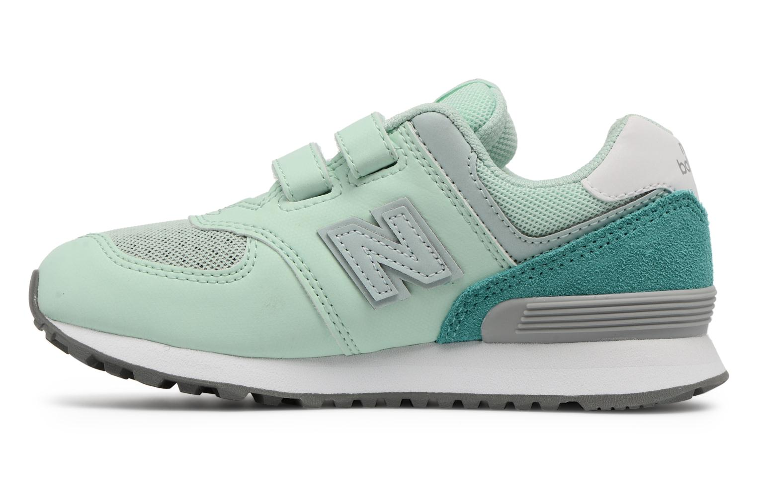Trainers New Balance KV574 J Green front view