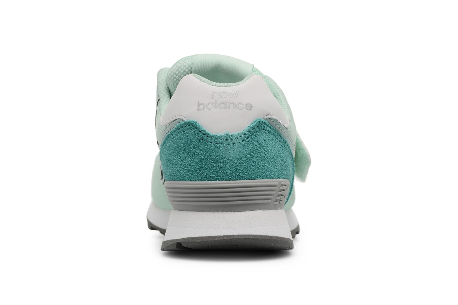Trainers New Balance KV574 J Green view from the right