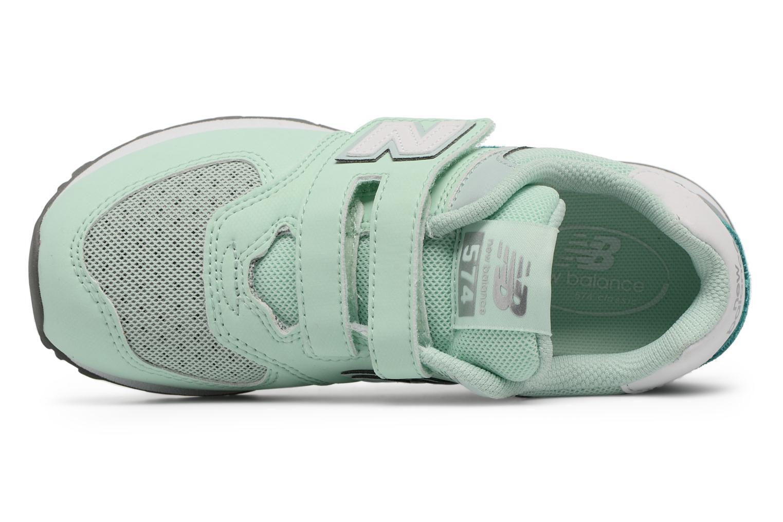 KV574 J Green/White