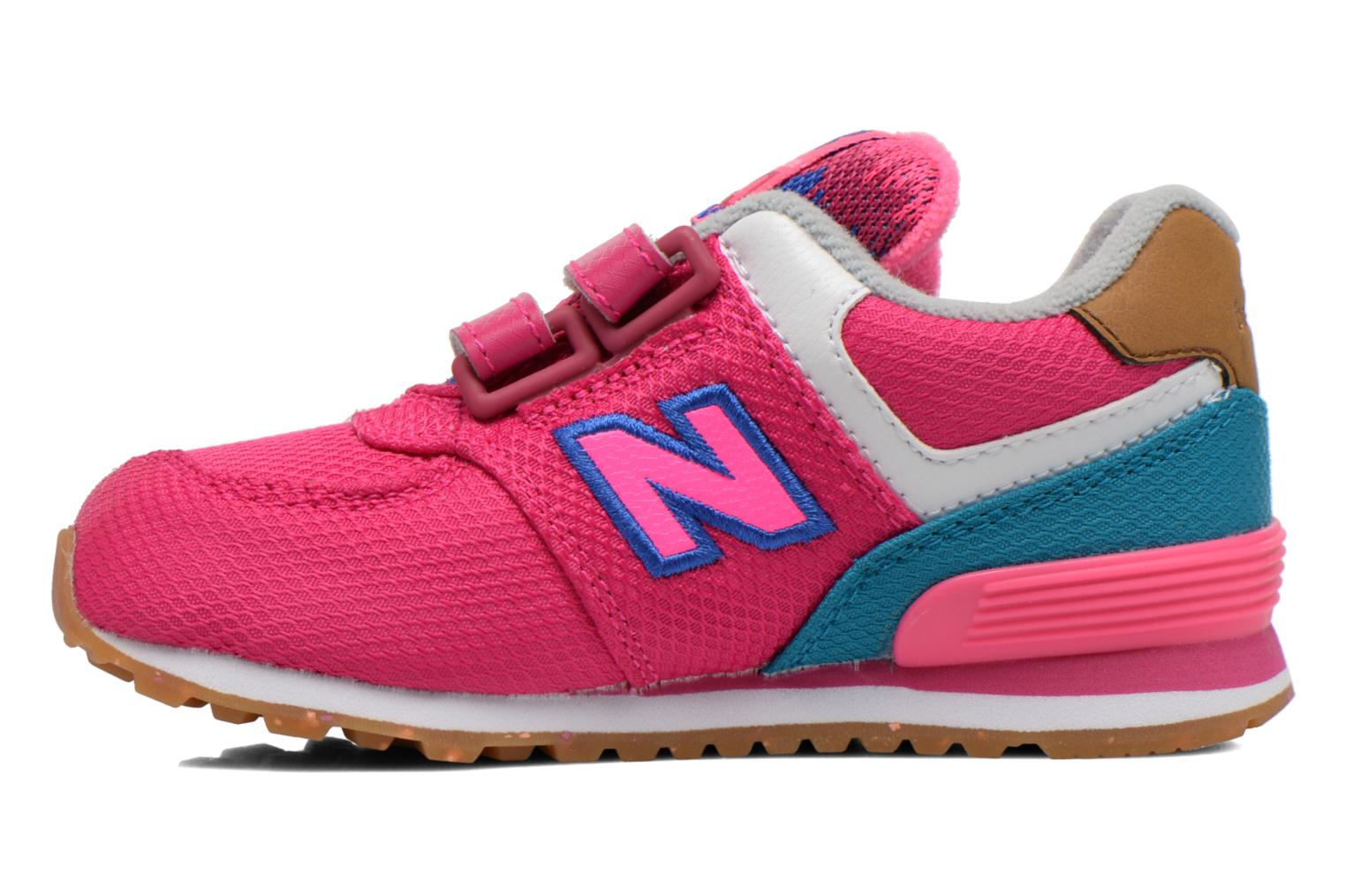 Trainers New Balance KG574 I Pink front view
