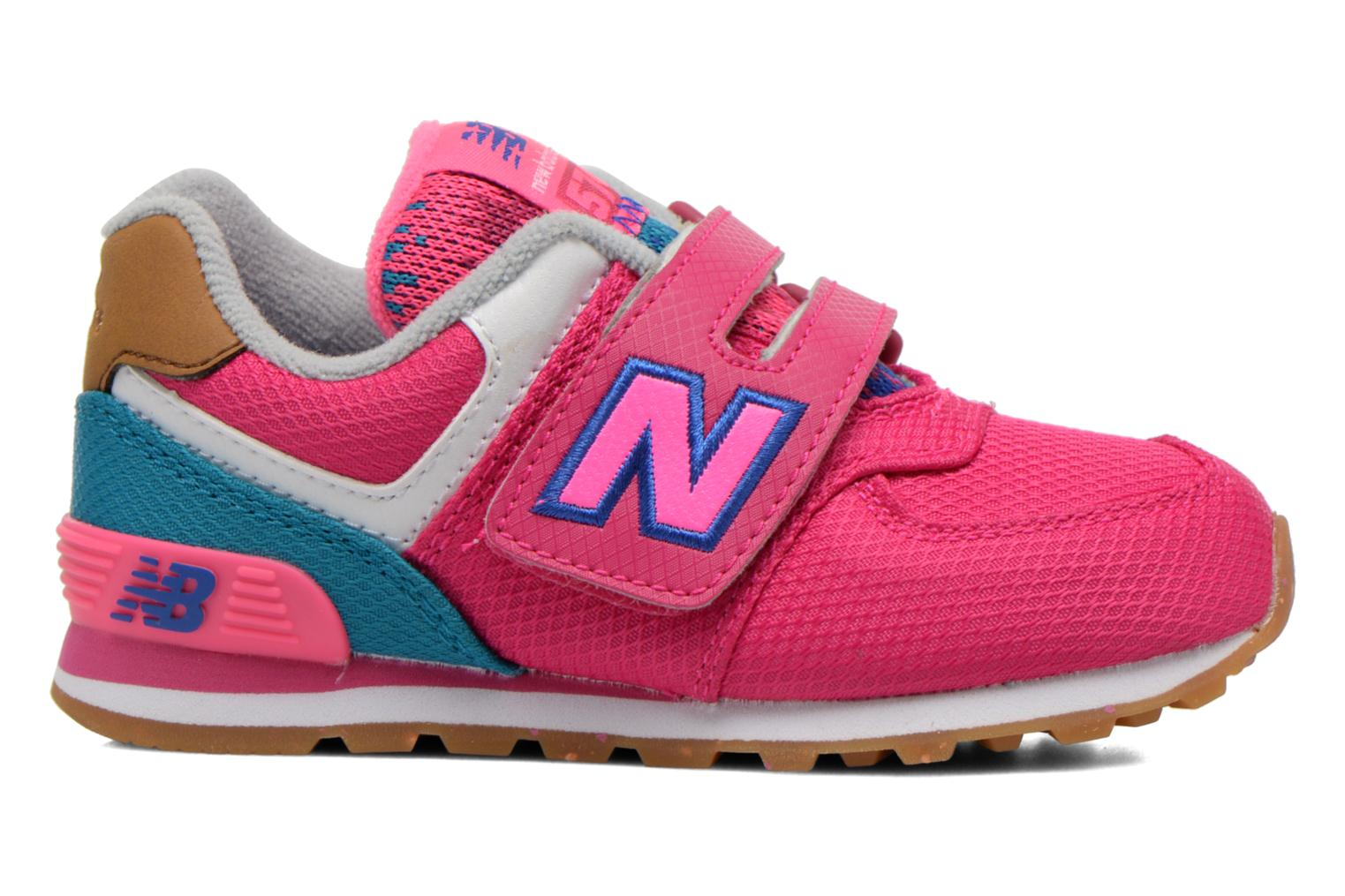 Trainers New Balance KG574 I Pink back view