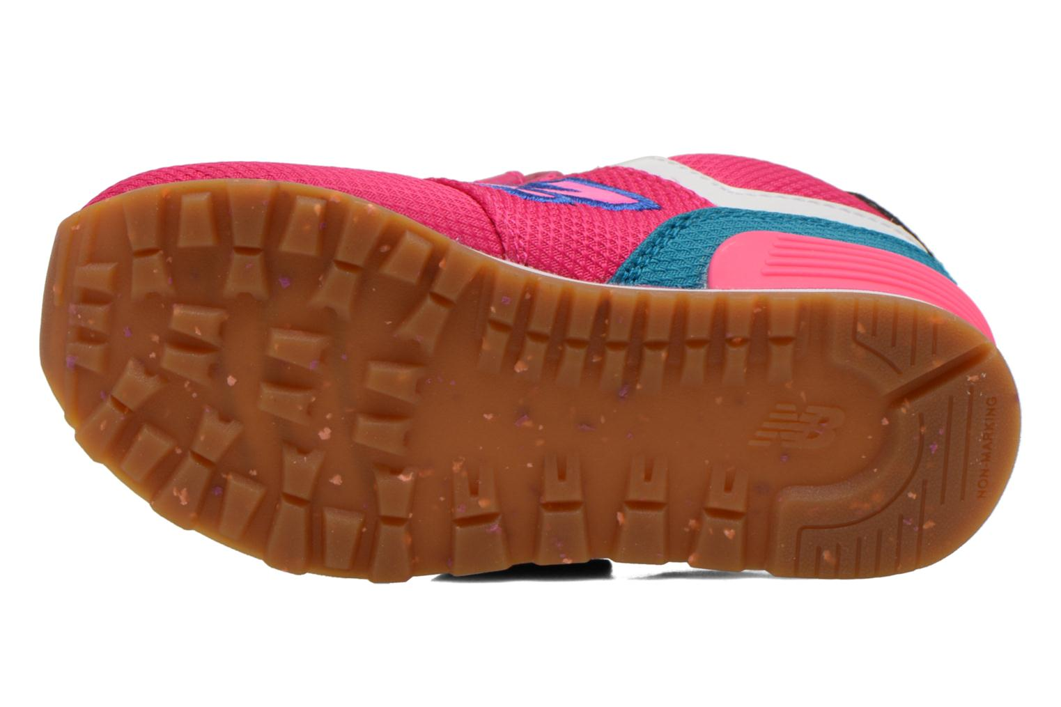 Trainers New Balance KG574 I Pink view from above