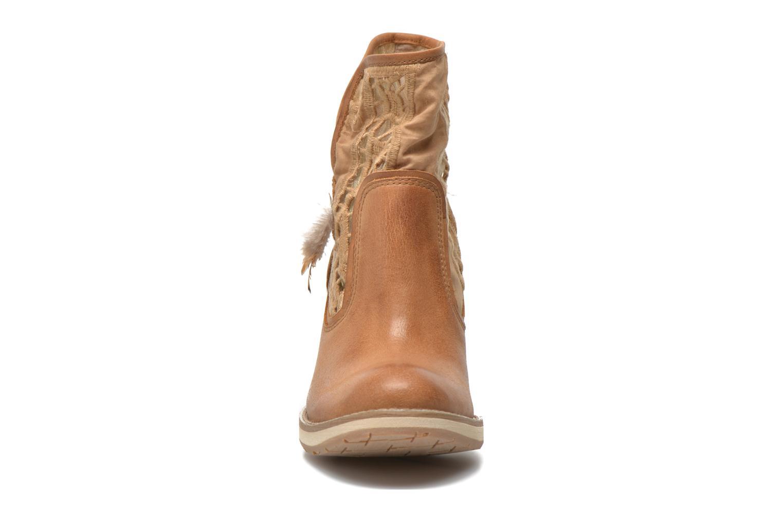 Bottines et boots Bunker Grace Row Marron vue portées chaussures