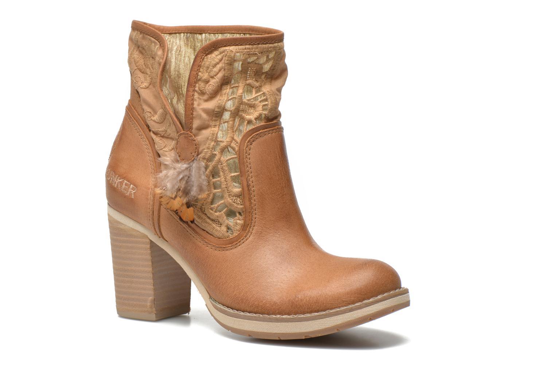Bottines et boots Bunker Grace Row Marron vue détail/paire