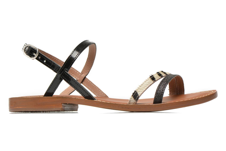 Sandalen L'Atelier Tropézien Laurette schwarz ansicht von hinten