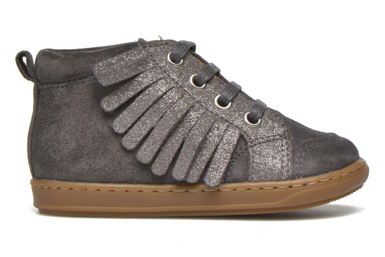Bottines et boots Shoo Pom Bouba Lace Fringe Gris vue derrière