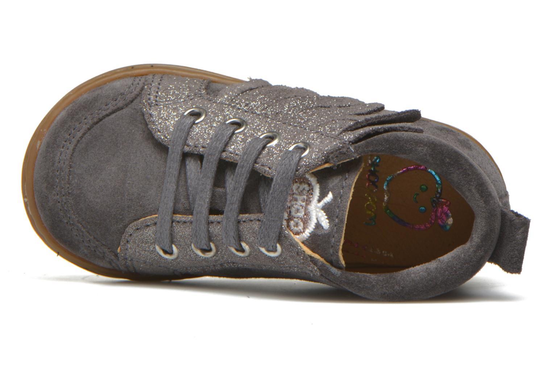 Bottines et boots Shoo Pom Bouba Lace Fringe Gris vue gauche