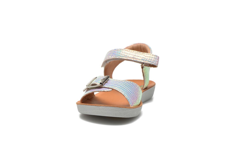 Sandales et nu-pieds Shoo Pom Goa Sandal Multicolore vue portées chaussures