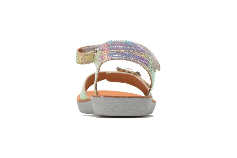 Sandales et nu-pieds Shoo Pom Goa Sandal Multicolore vue droite