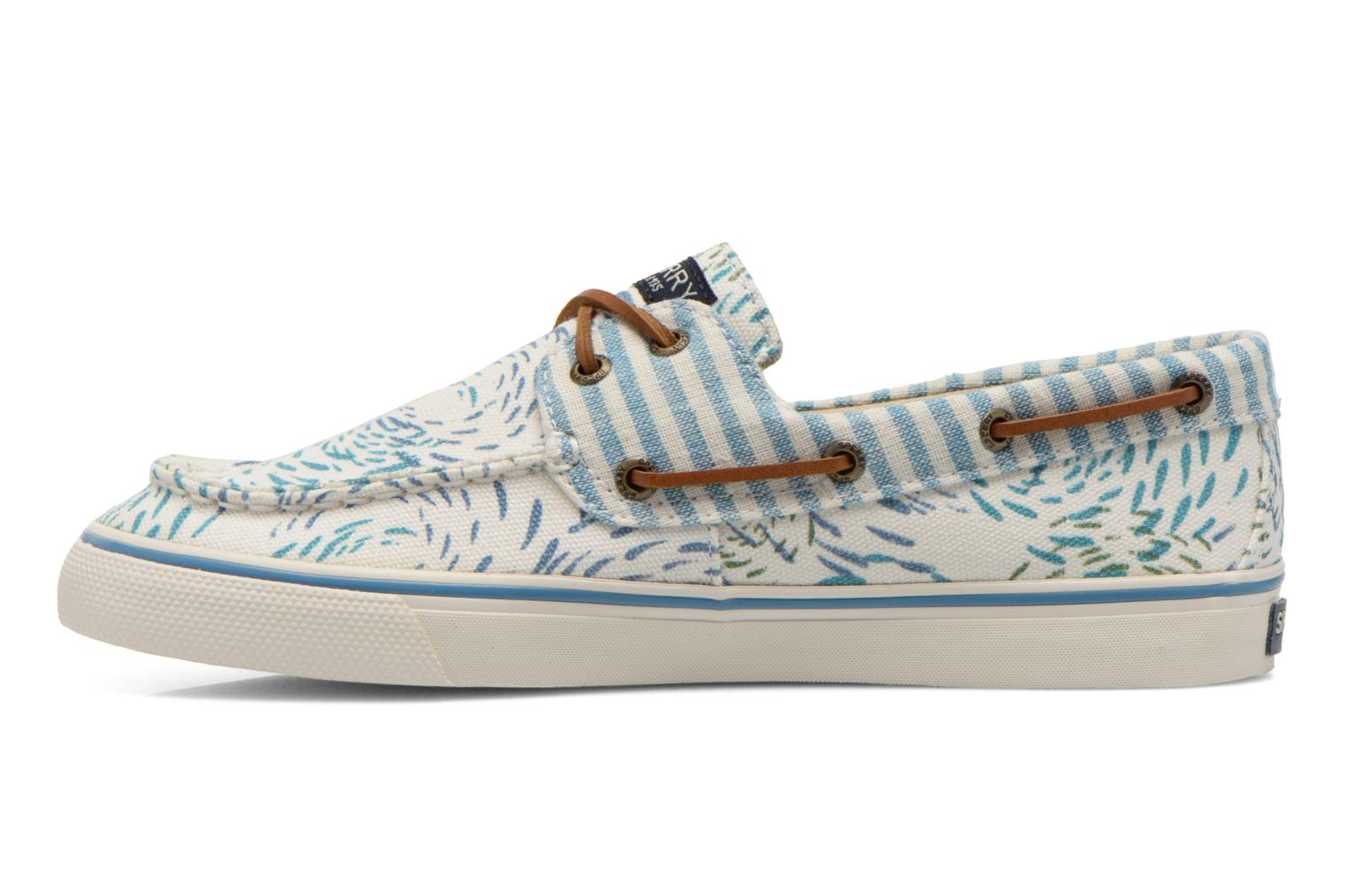 Lace-up shoes Sperry Bahama Fish Circles Blue front view