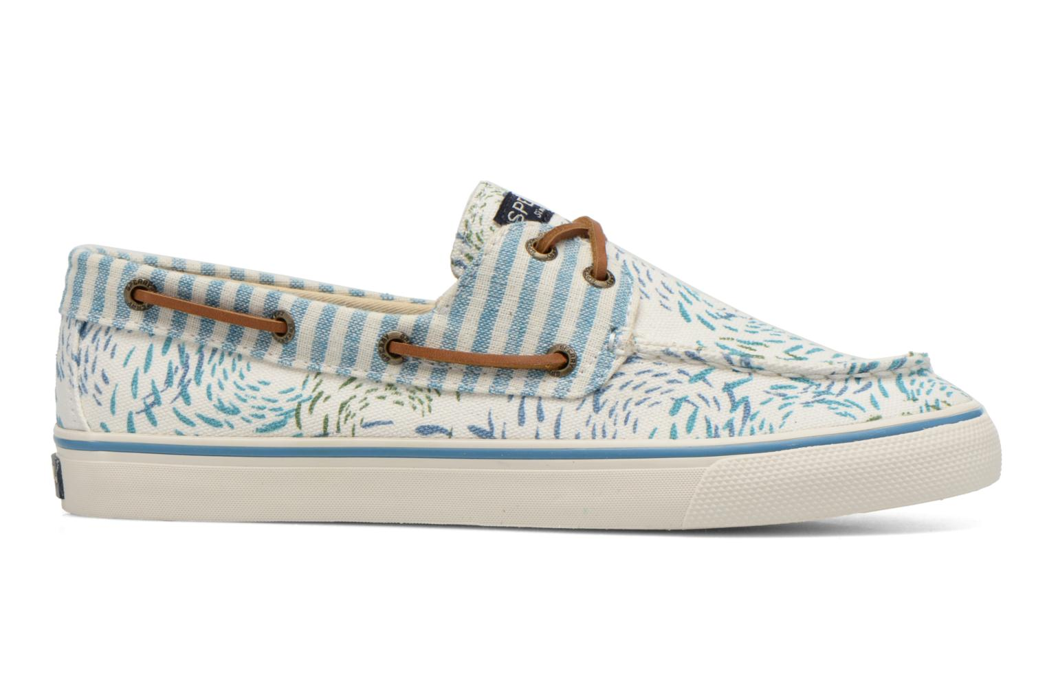 Lace-up shoes Sperry Bahama Fish Circles Blue back view