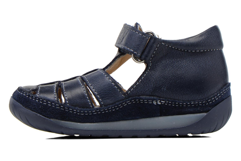 Sandales et nu-pieds Naturino Andrea 163 VL Bleu vue face