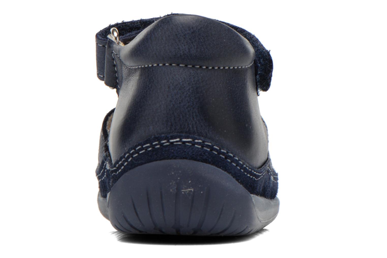 Sandales et nu-pieds Naturino Andrea 163 VL Bleu vue droite