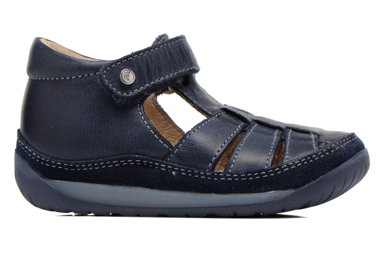 Sandales et nu-pieds Naturino Andrea 163 VL Bleu vue derrière