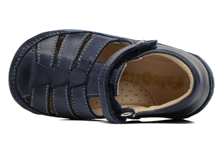 Sandales et nu-pieds Naturino Andrea 163 VL Bleu vue gauche