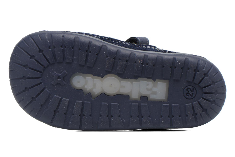 Sandales et nu-pieds Naturino Andrea 163 VL Bleu vue haut