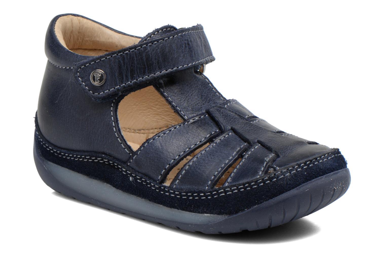 Sandales et nu-pieds Naturino Andrea 163 VL Bleu vue détail/paire