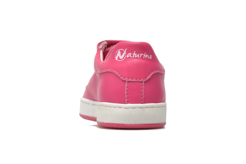 Baskets Naturino Diamante 4064 VL Rose vue droite